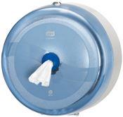 Distributeur papier toilette Smartone Lotus bleu systeme Smart one