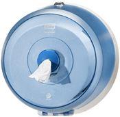 Distributeur papier toilette Tork SmartOne mini bleu