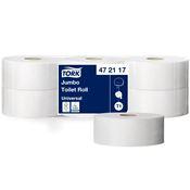 Papier toilette jumbo Tork 1 plis blanc 650 m colis de 6