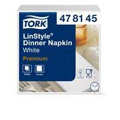 Serviette Tork Linstyle dinner blanc les 600