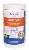 Lipidose entretien des petits bacs à graisse pot de 8 sachets