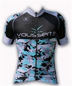 Maillot cyclisme Teamvoussert camouflage PRR