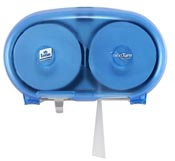 Distributeur de papier toilette Lotus compact NextTurn Ensure Bleu