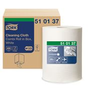 Chiffon non tissée Tork Premium 510 blanc bobine