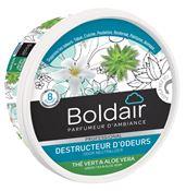 Boldair destructeur d'odeur gel thé vert 300 grs