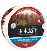 Boldair gel destructeur d'odeur cèdre 300 grs