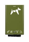 Distributeur gant proprete canine Rossignol vert olive
