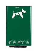 Distributeur gant proprete canine Rossignol vert mousse