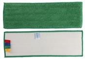 Frange microfibre sol velcro 44 x 14 verte