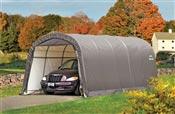 Garage demontable voiture structure acier et polyethylene 3,7 x 6,1 m