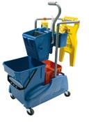 Chariot de ménage lavage Numatic compact TM2815