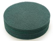 Disque vert monobrosse nettoyage sol 355 mm colis de 5