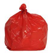 Sac poubelle 110 litres rouge colis 200