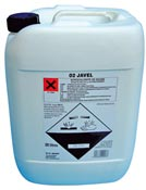 Javel concentree 36 degres Chlore usage professionnel bidon de 20 L