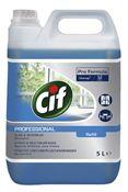 Cif professional vitres et multisurfaces 5L