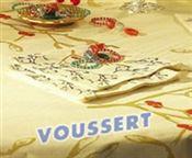 Serviette Noel Gui ivoire 40 x 40 non tissé paquet de 50