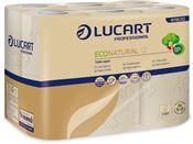 Papier toilette ecologique Eco Lucart Natural 200 f colis de 96