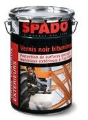 Spado vernis noir bitumeux seau 4L