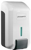 Distributeur savon gel JVD cleanline blanc