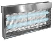 Destructeur d'insecte JVD 40 Watts inox Professionnel