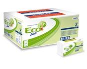 Essuie mains papier Ecolabel pliage Z blanc 2 plis colis de 3000