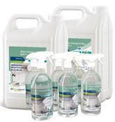 Nettoyant desinfectant EN 14476 pack 5L et 1L