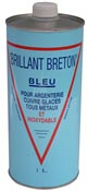 Brillant breton bleu nettoyant argenterie bidon de 1 L