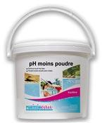 pH moins poudre produit piscine seau 8 kg