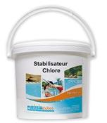 Stabilisateur de chlore produit piscine Seau de 5 kg