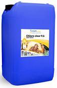 Chlore piscine liquide professionnel  36° produit piscine bidon 23 kg