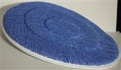 Disque microfibre recurage bleue monobrosse D 432 mm colis de 5