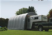 Garage demontable camping car caravane bateau 4,3 x 7,3 x 3,7 m