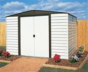 Abri de jardin Arrow VD106 acier galvanise peinture vinyle 5 m2