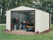 Garage metal demontable Arrow VT1217 acier galvanisé 19 m2