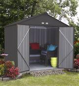 Abri de jardin Arrow Ezee shed EZ87 gris foncé