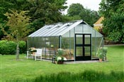 Serre de jardin Juliana Gartner 21,4m2 alu polycarbonate
