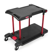 Chariot de manutention Rubbermaid convertible utility Cart