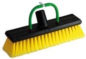 Brosse pour nettoyage panneaux solaires jaune Unger