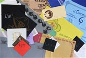 Serviette papier personnalisee 40 x 40 blanche 2 plis 3 coul par 2000