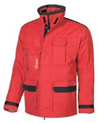 Manteau impermÈable de travail rouge wrc
