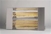 Chauffage infrarouge terrasse BRC 4500 W inox
