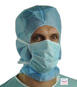 Masque chirurgical type II bleu lanieres par 300