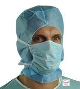 Masque chirurgical kolmi type IIR bleu lanieres boite de 40