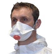 Masque protection FFP3 valve boite de 10