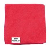 Chiffon microfibre Unger rouge paquet de 10