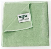 Chiffon microfibre Unger vert Microwipe 4000 paquet 10