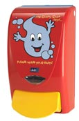Distributeur de savon enfant Deb Proline Mr Soapy soap