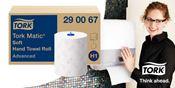 Pack distributeur Tork Matic H1 blanc offert
