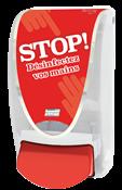 Distributeur gel desinfectant Deb Proline stop