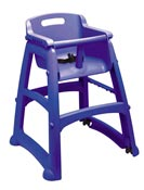 Chaise pour enfant Rubbermaid Sturdy Chair bleue